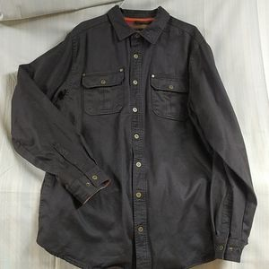 Legendary Whitetails mens flanned-lined jacket